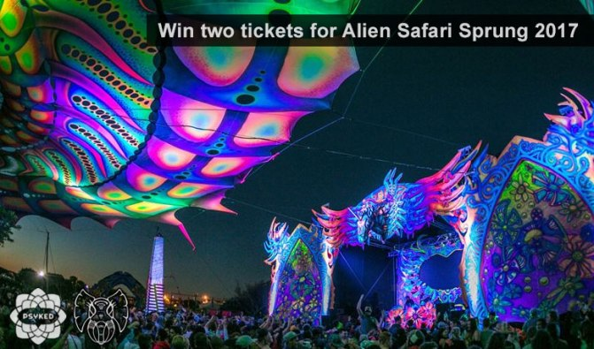 Alien Safari Sprung tickets
